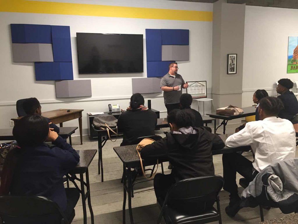 BABB Gives Back - Neighborhood Academy Visit
